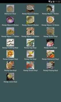 Resep Makanan Bayi Terlengkap poster