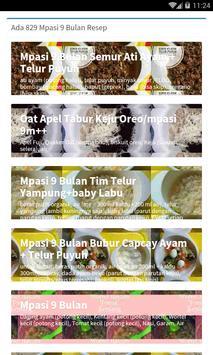 Resep Makanan Bayi Terlengkap screenshot 4