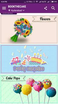Bookthecake - Cakes, Flowers screenshot 1