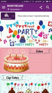 Bookthecake - Cakes, Flowers screenshot 2
