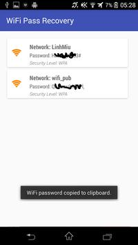 WiFi Pass Recovery (Rooted) screenshot 2