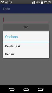 Simple ToDo apk screenshot