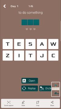 Clue see word find - HoonWord screenshot 4