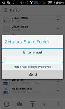 Zettabox screenshot 5