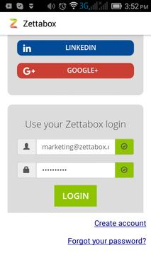 Zettabox poster