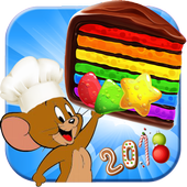 Cookie Crush Jerry - Cookie Smash Jam - Match 3 icon
