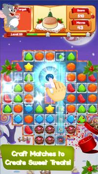 Cookie Crush Jerry - Cookie Smash Jam - Match 3 screenshot 1