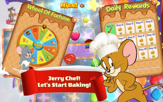 Cookie Crush Jerry - Cookie Smash Jam - Match 3 screenshot 4