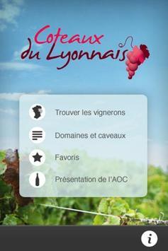 Côteaux du Lyonnais poster