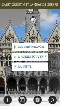ww1 Saint-Quentin poster