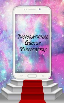 Inspirational Quotes Wallpaper poster