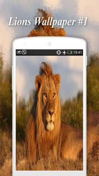 Lions Wallpapers screenshot 1