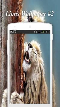 Lions Wallpapers screenshot 2