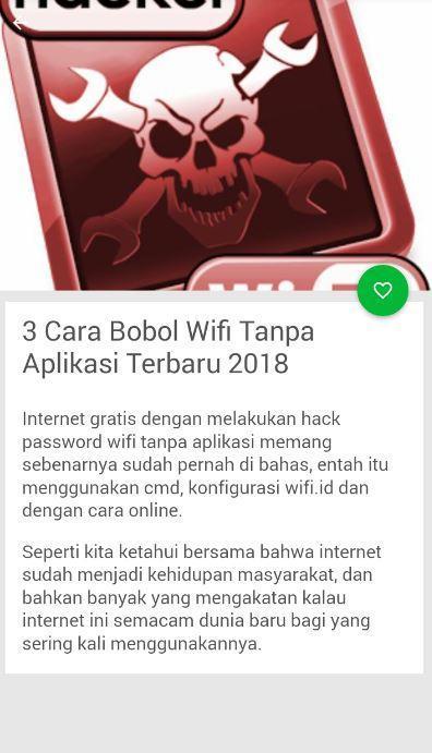 Cara Bobol Wifi 2018 For Android Apk Download
