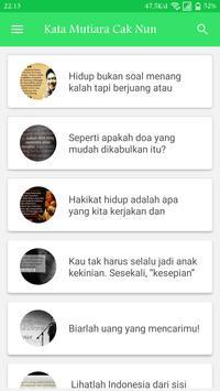Kata Mutiara Bijak Cak Nun poster