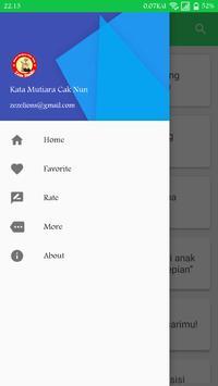 Kata Mutiara Bijak Cak Nun apk screenshot