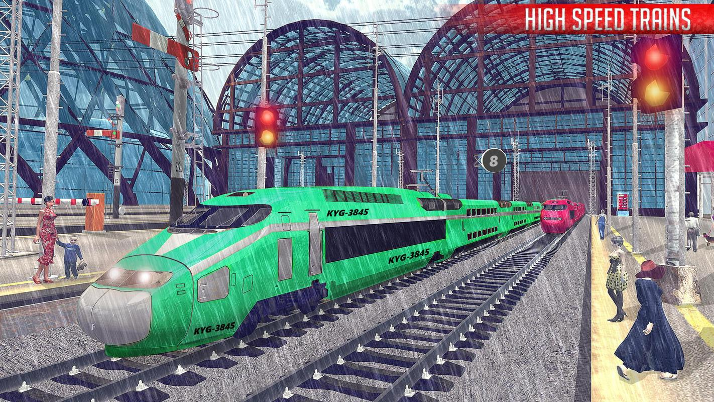 city train simulator train driving game 2018 for android