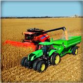 Real Tractor Farming Sim 2017 icon