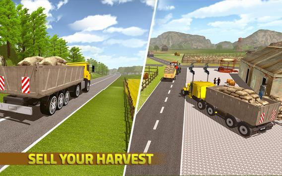 Real Tractor Farming Sim 2017 apk screenshot