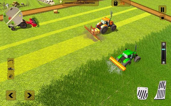 Real Tractor Farming Sim 2017 poster