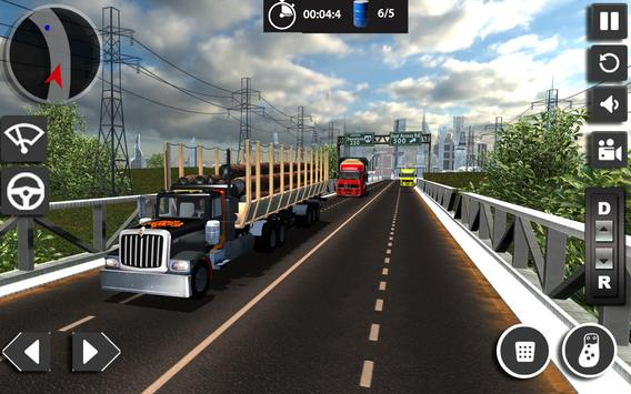 Transport Truck Simulator USA apk screenshot