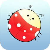 Brain Trainer with Ladybug icon