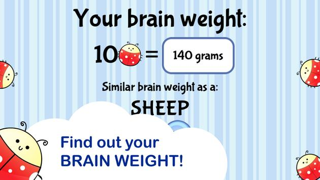 Brain Trainer with Ladybug poster