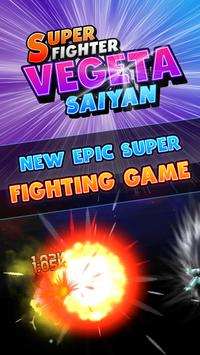 Super Fighter Vegeta Saiyan poster