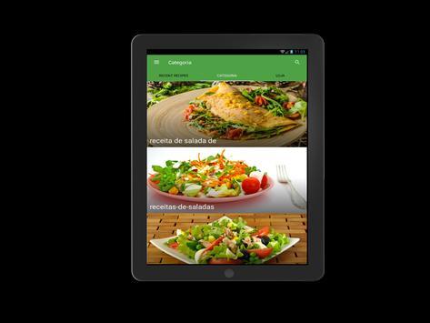 receitas de saladas screenshot 9
