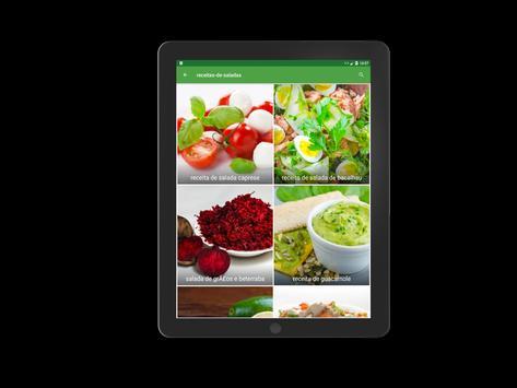 receitas de saladas screenshot 13
