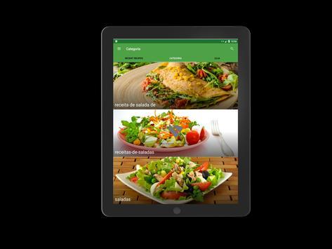 receitas de saladas screenshot 12