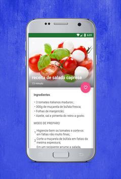 receitas de saladas screenshot 2