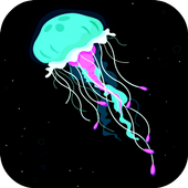 Jellyfish LIVE broadcasting icon