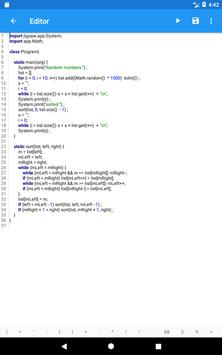 HelloWorld: funny coding IDE apk screenshot