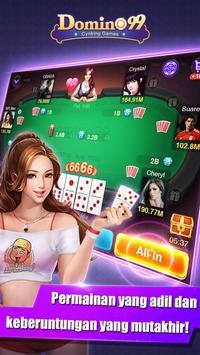 Domino QiuQiu · 99 : Pulsa : Free apk screenshot