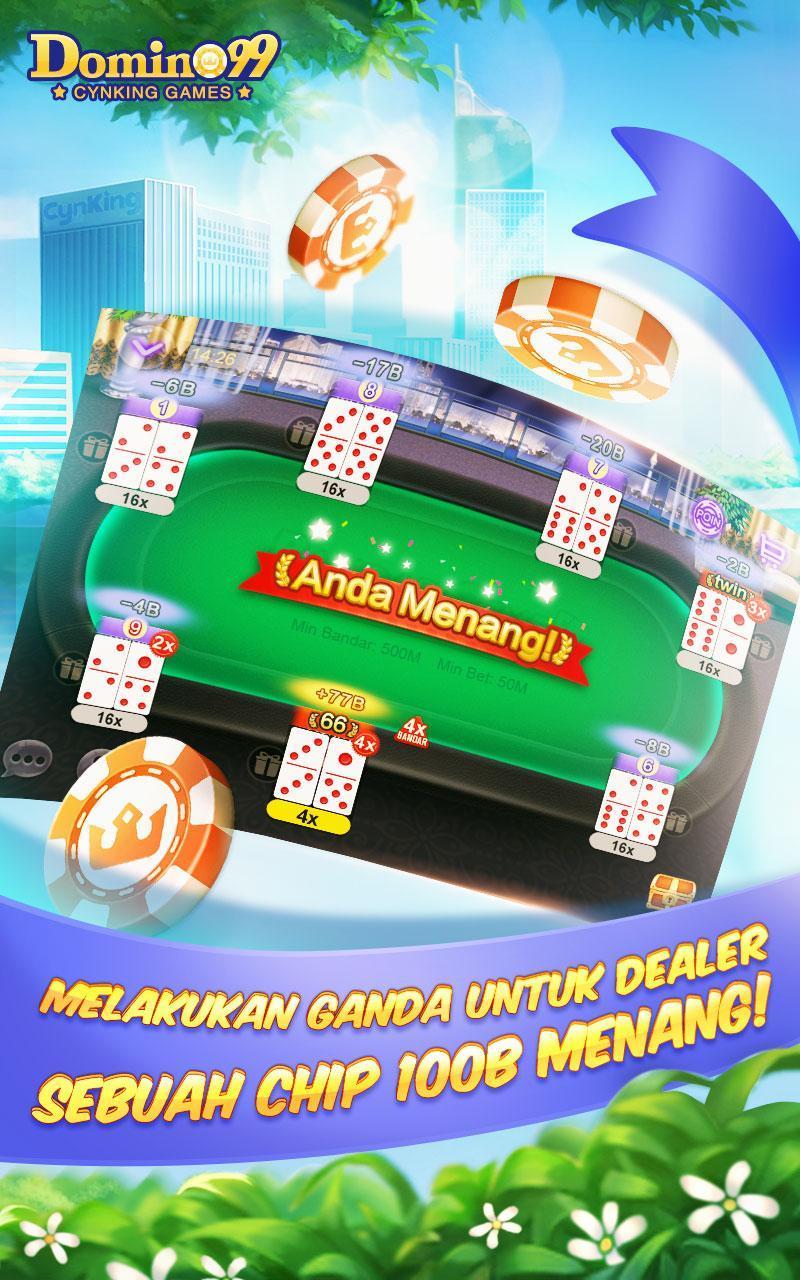 Domino Qiuqiu 99 Pulsa Free For Android Apk Download