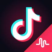 TikTok - incluindo musical.ly ícone