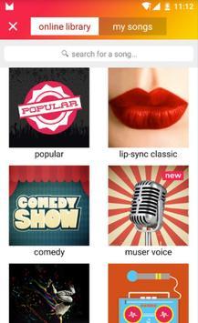 musical.ly lite скриншот приложения