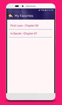 Famous Love & Romance Novels Screenshot 5