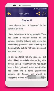 Famous Love & Romance Novels Screenshot 9