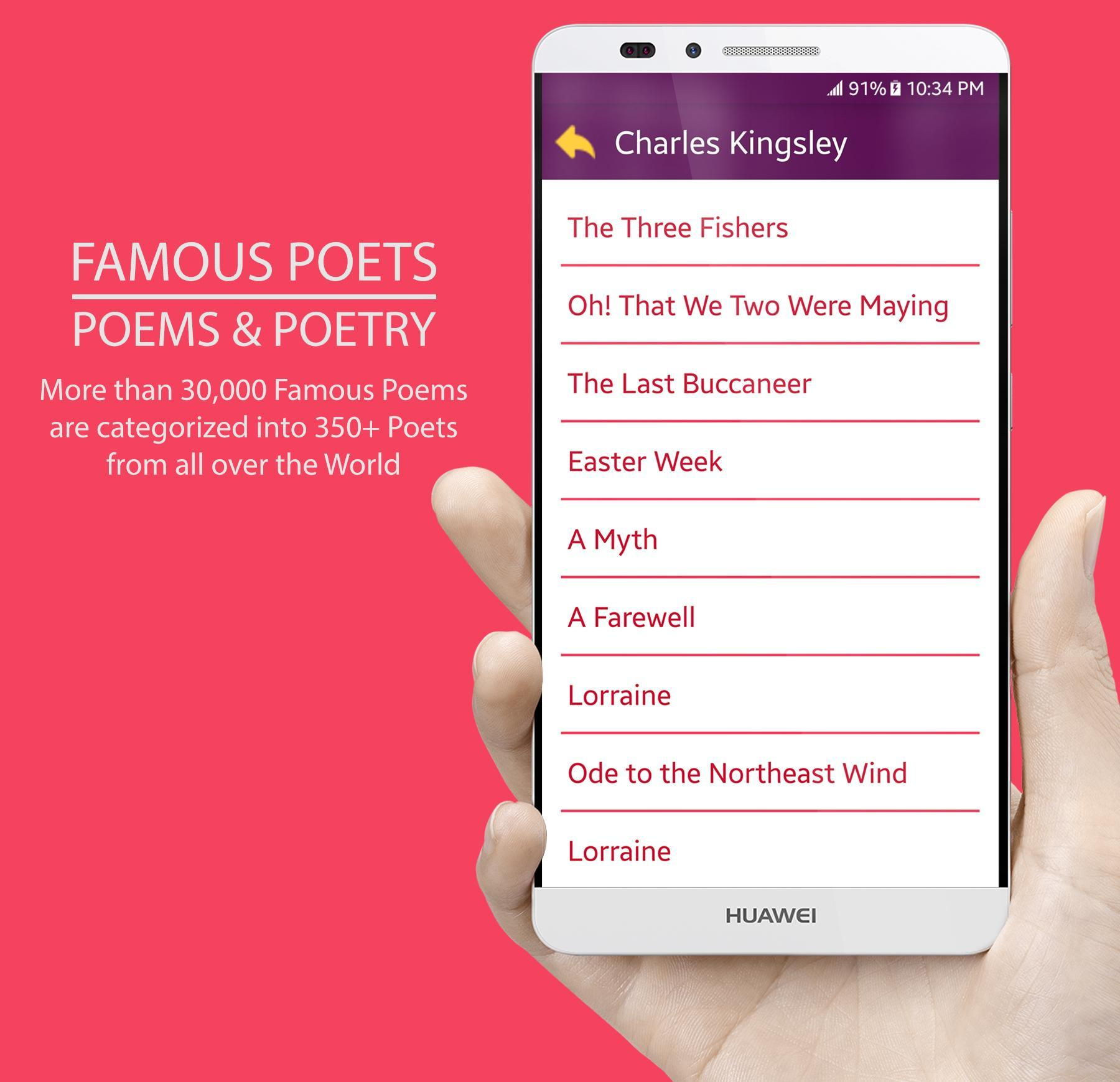 Famous Poets Poems Poetry For Android Apk Download