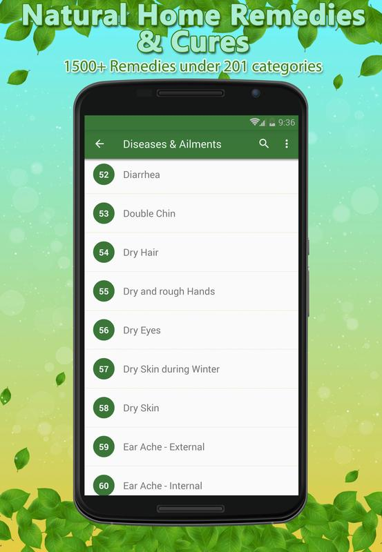 Home Remedies Natural Cures Apk