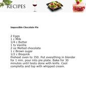Chocolate Recipes Freebie icon