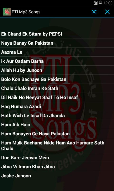PTI TARANNY MP3 for Android - APK Download