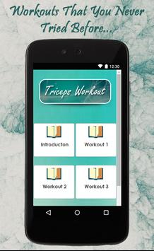 Triceps Workout Guide apk screenshot