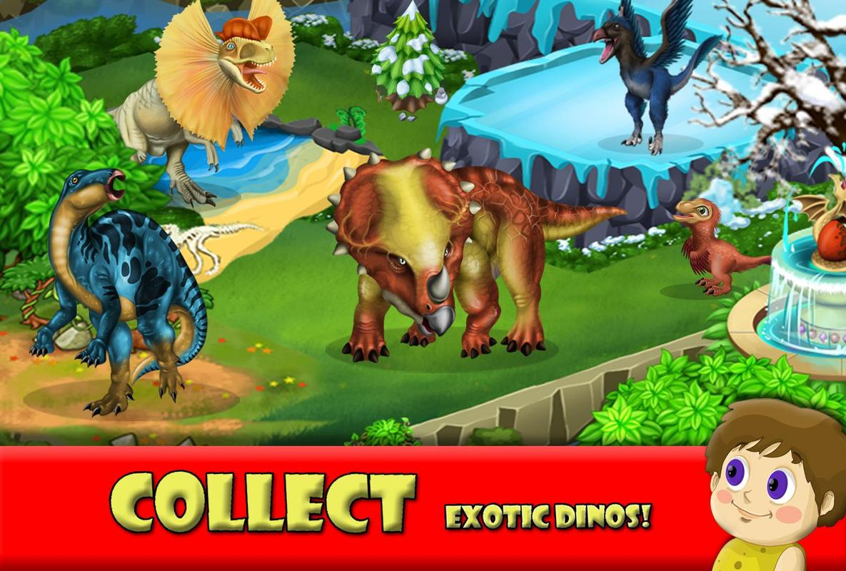 Dino Battle APK Download - Free Role Playing GAME for ...