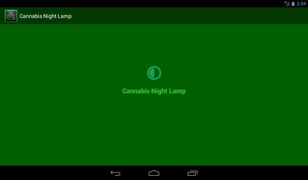 Cannabis Night Lamp apk screenshot