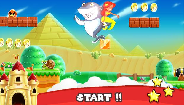 Zig Crazy Sharko Run apk screenshot