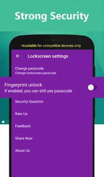 Fingerprint Gallery Locker apk screenshot