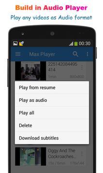 Max Player Pro screenshot 2